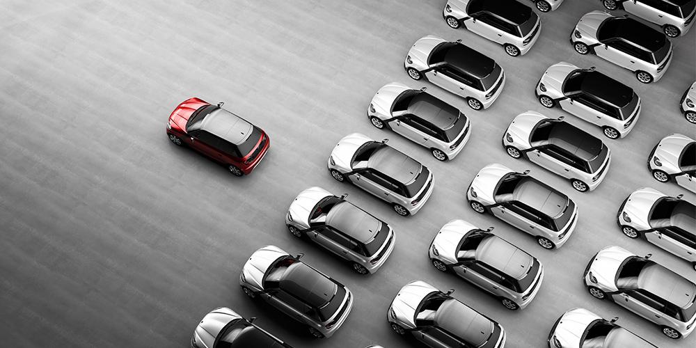 Elige tu vehículo.